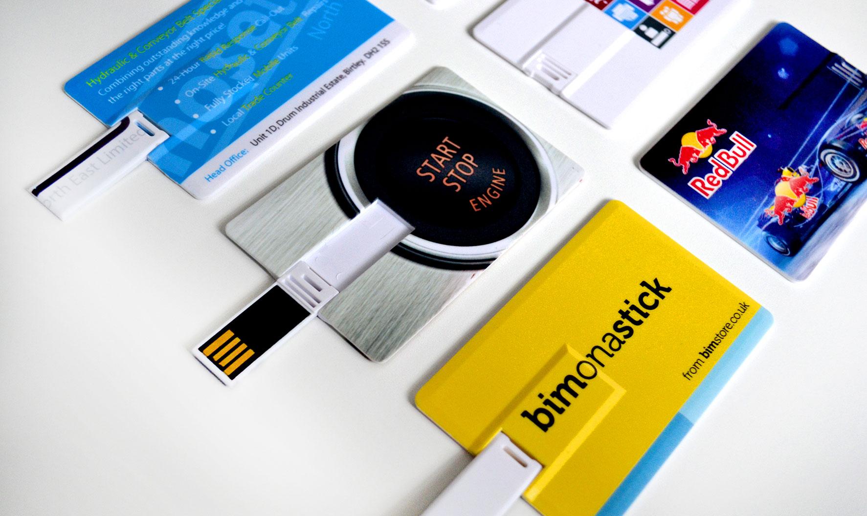 Branded Credit Card USB Flash Drive - 4GB
