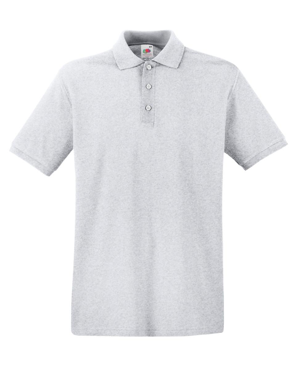 Branded Pique Polo Shirt