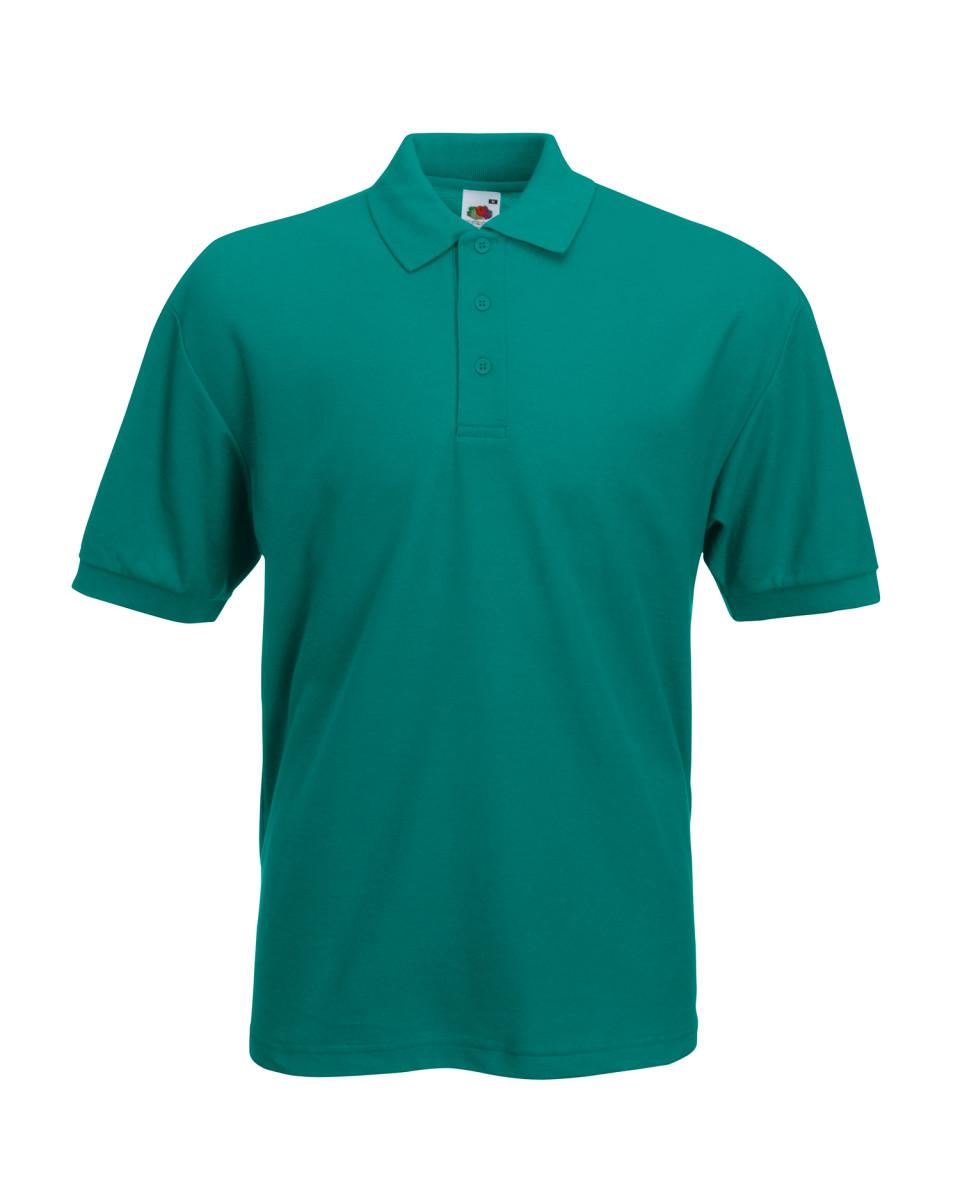 Printed Pique Polo Shirt