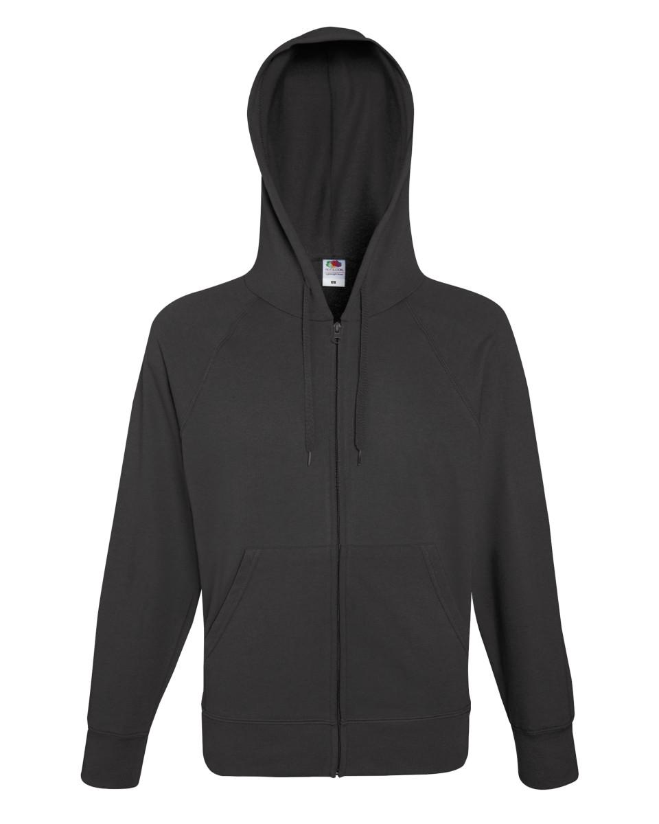 Promotional Lightweight Zip Hooded Sweatshirt