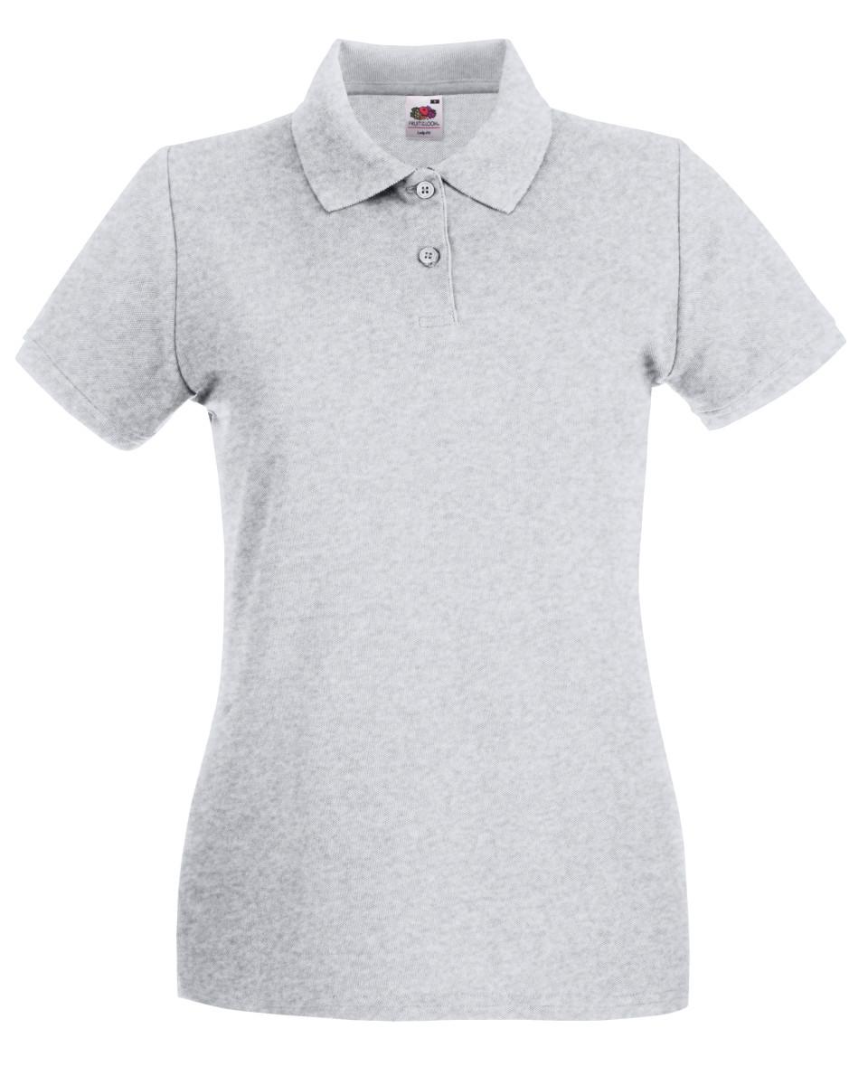Promotional Lady Fit Premium Pique Polo Shirt