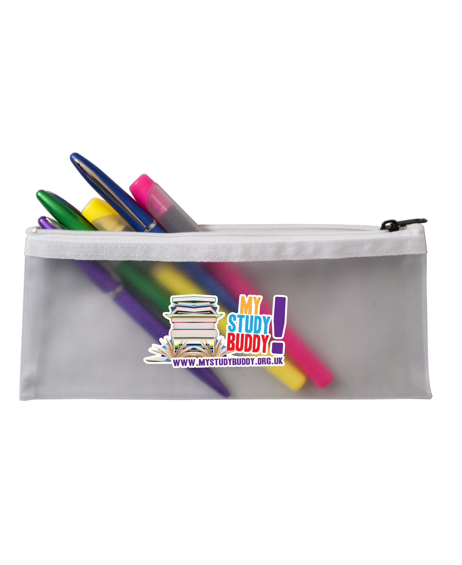 Branded Frost Pencil Case