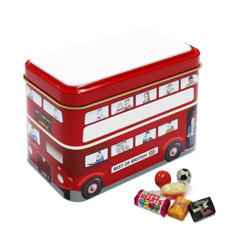 Promotional Bus Tin Retro