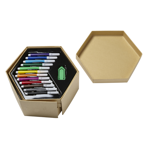 Hexagonal Art Set