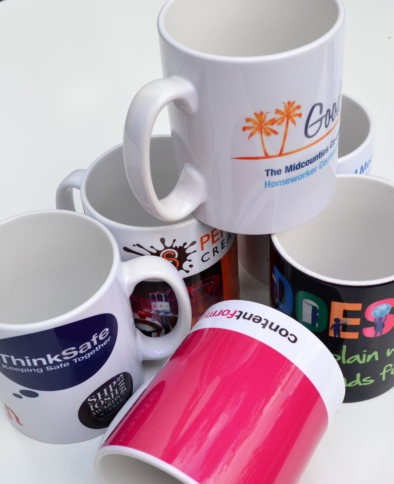 Branded Pic 330 ml ceramic sublimation mug