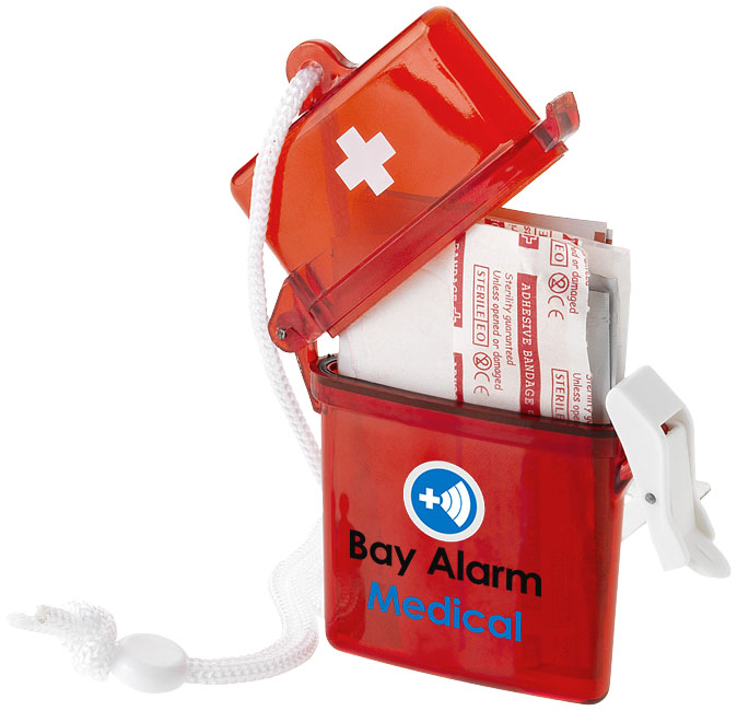 Branded 10 piece first aid kit