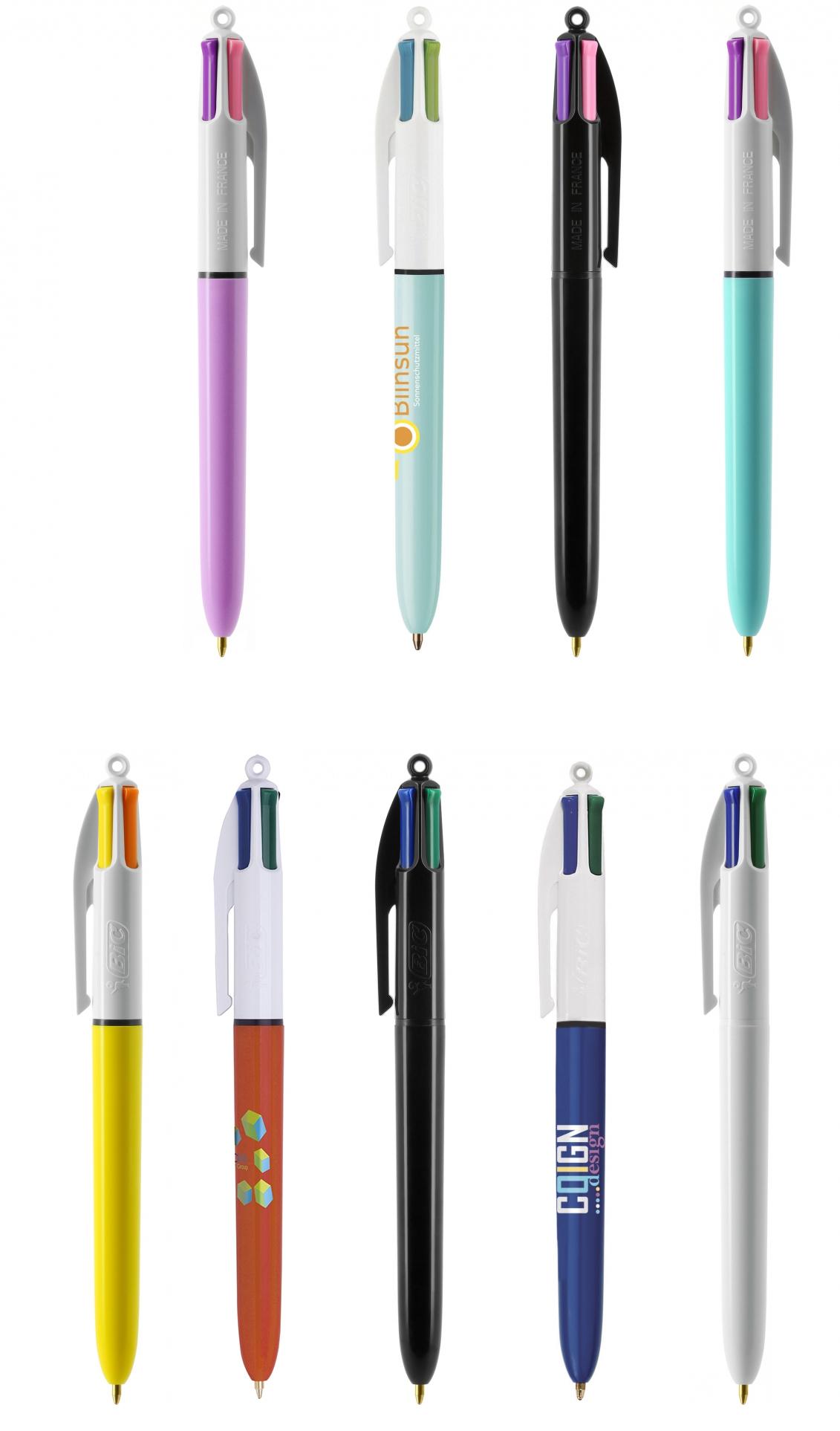 Branded BIC 4 Colours Ballpen