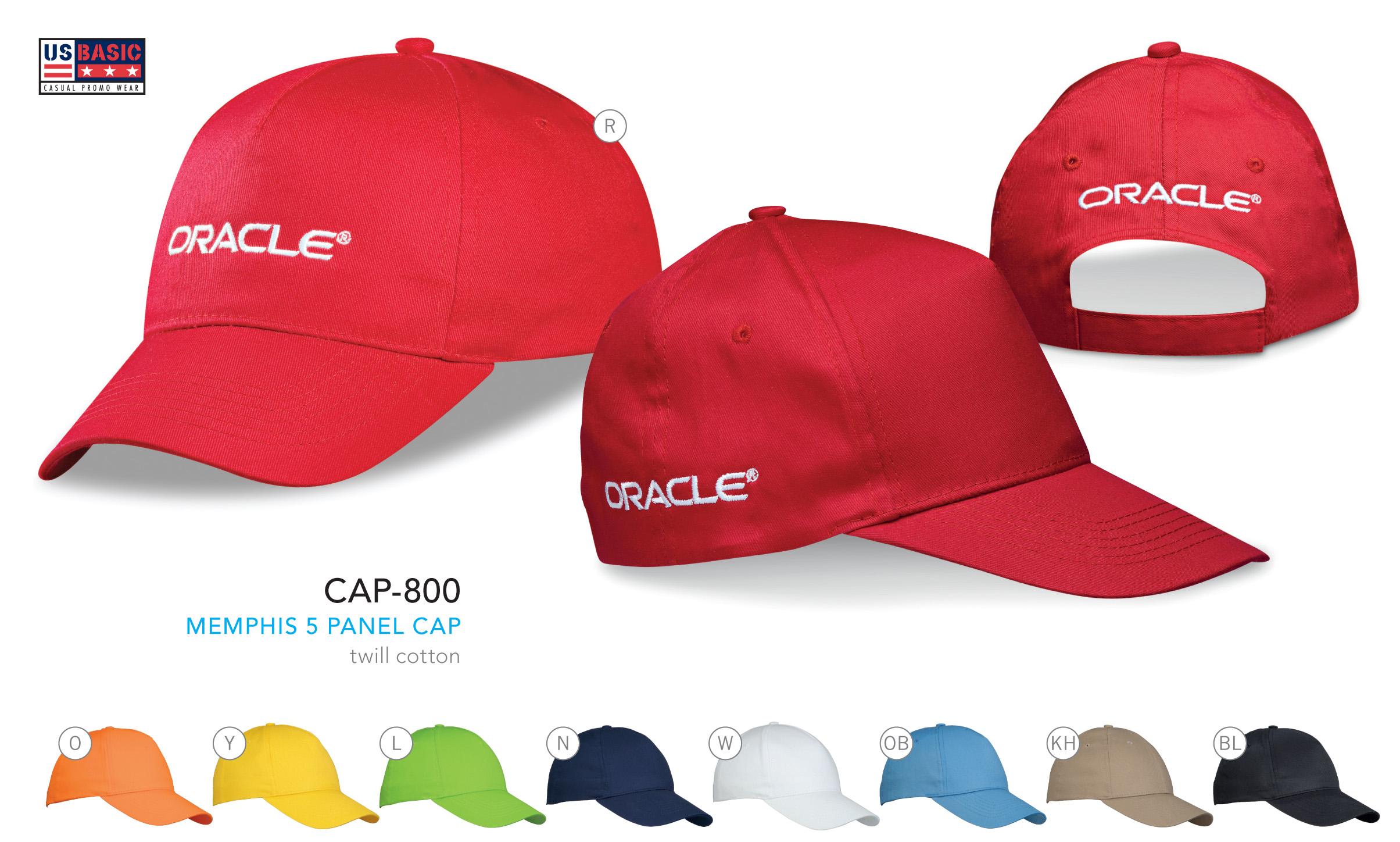 Promotional Memphis 5 panel cap