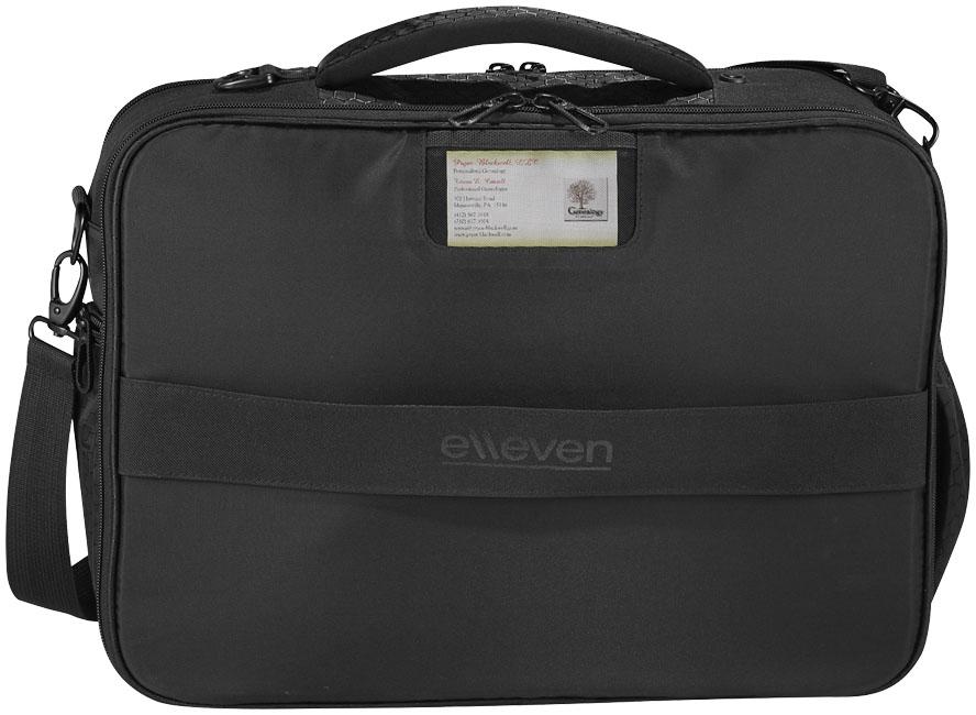 Corporate Vapor checkpoint-friendly 17'' laptop attaché