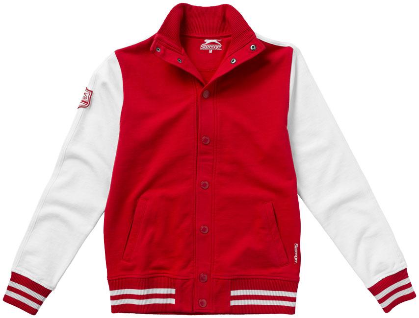 Corporate Varsity sweat jacket