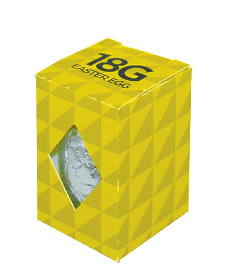 Branded 18g Easter Egg