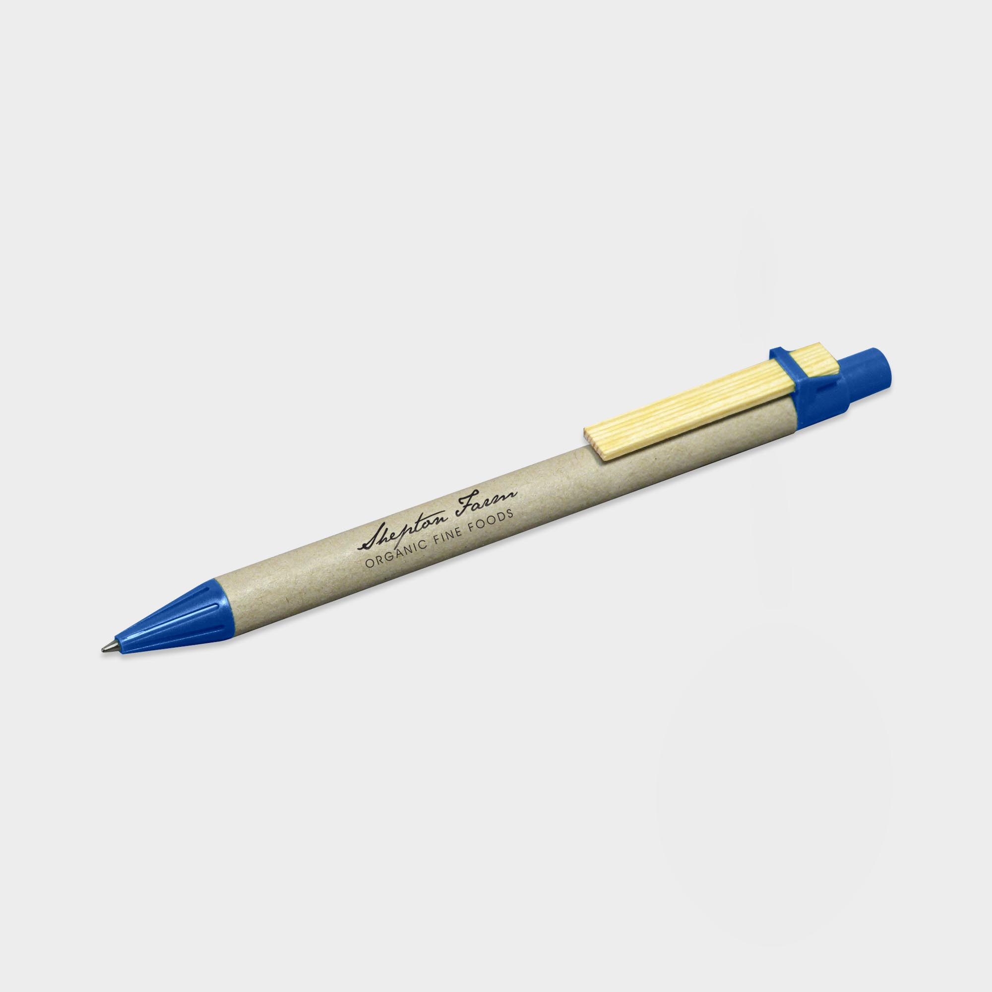 Personalised Storia Recycled Pen with Flat Clip