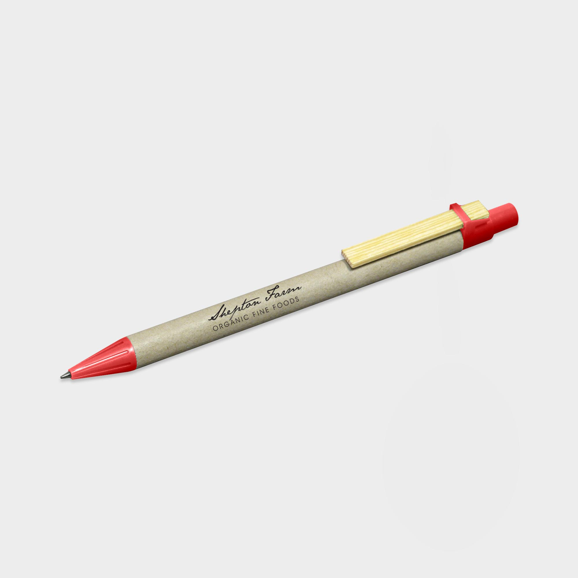 Corporate Storia Recycled Pen with Flat Clip