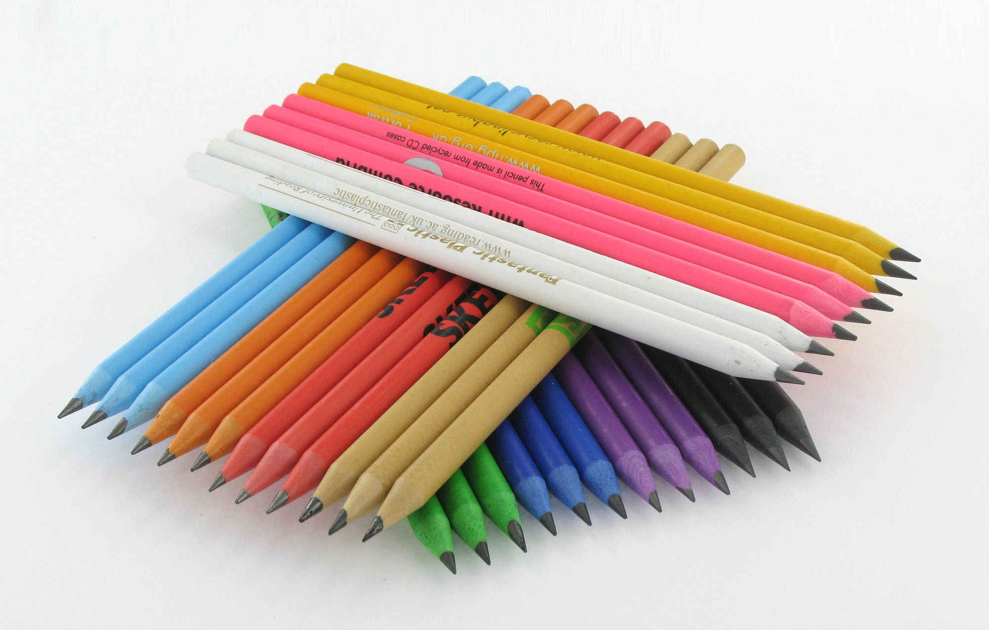 Promotional Recycled CD Case Pencil
