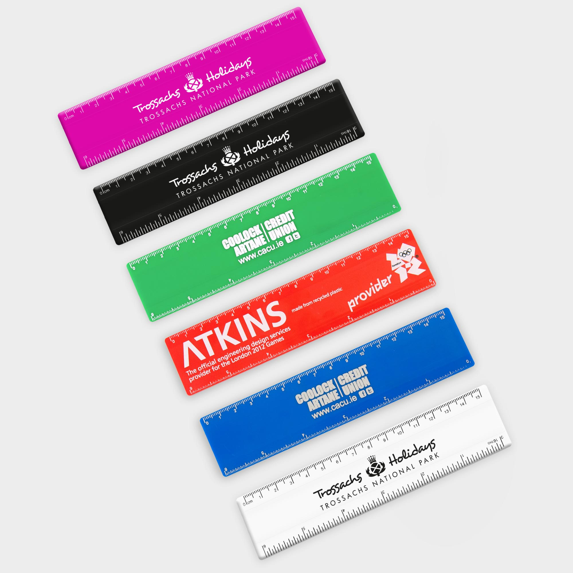Promotional Recycled Rulers 15cm