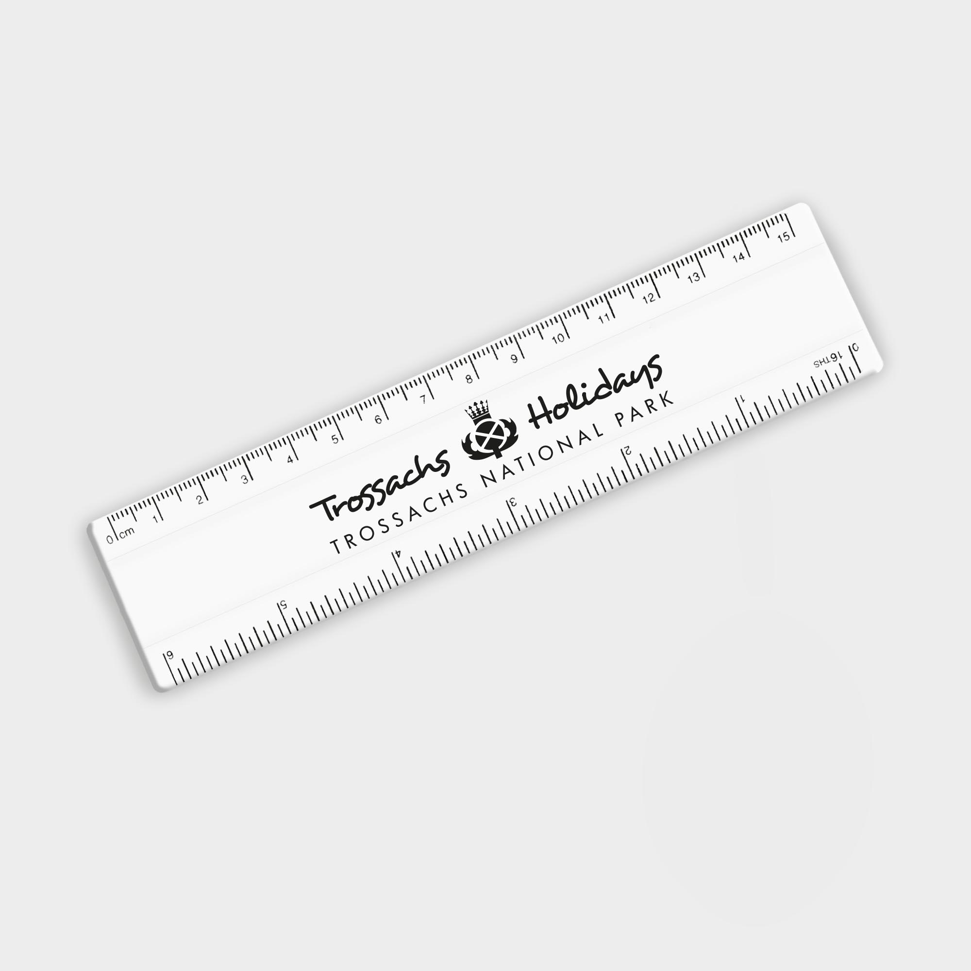 Branded Recycled Rulers 15cm
