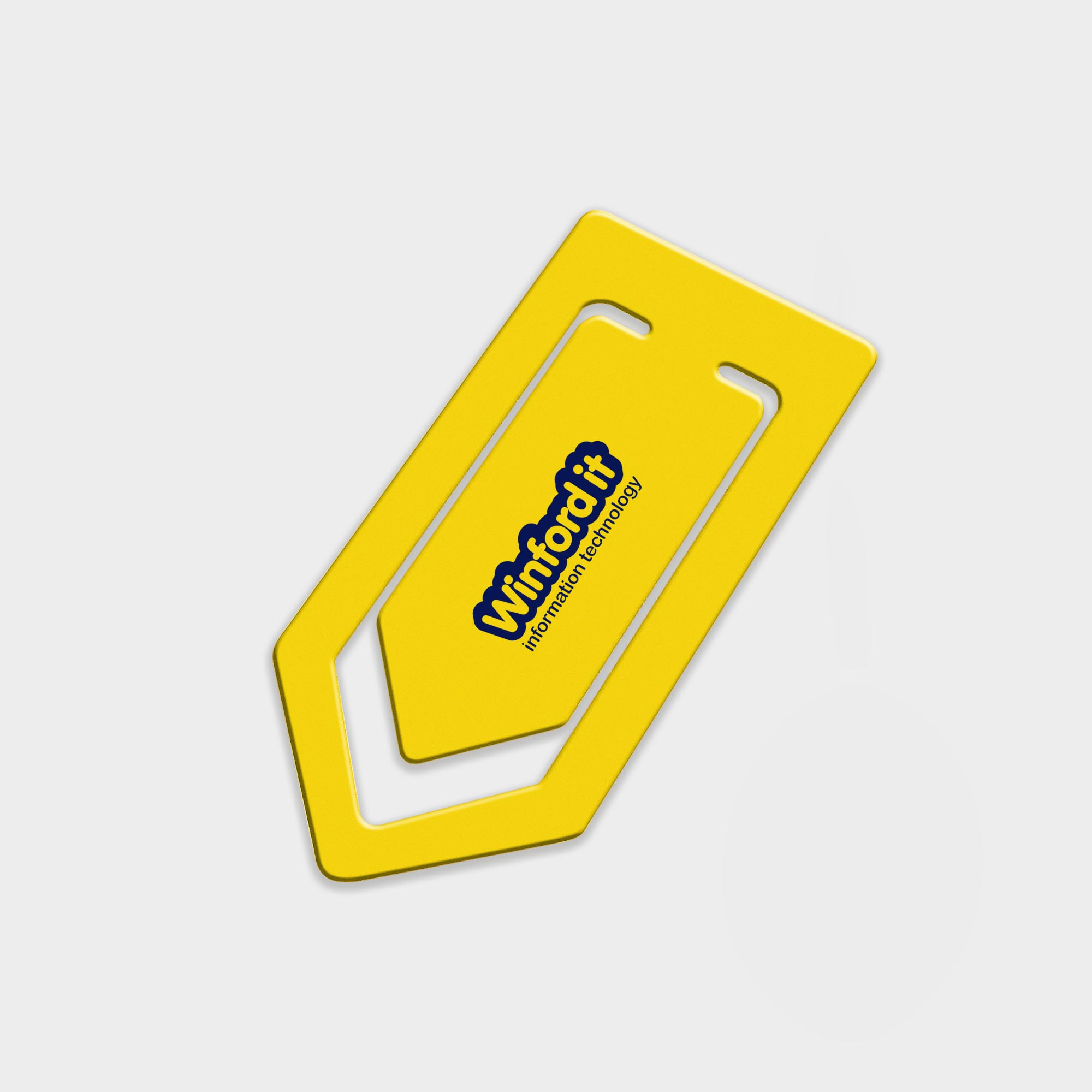 Branded Recycled Large Paper Clip