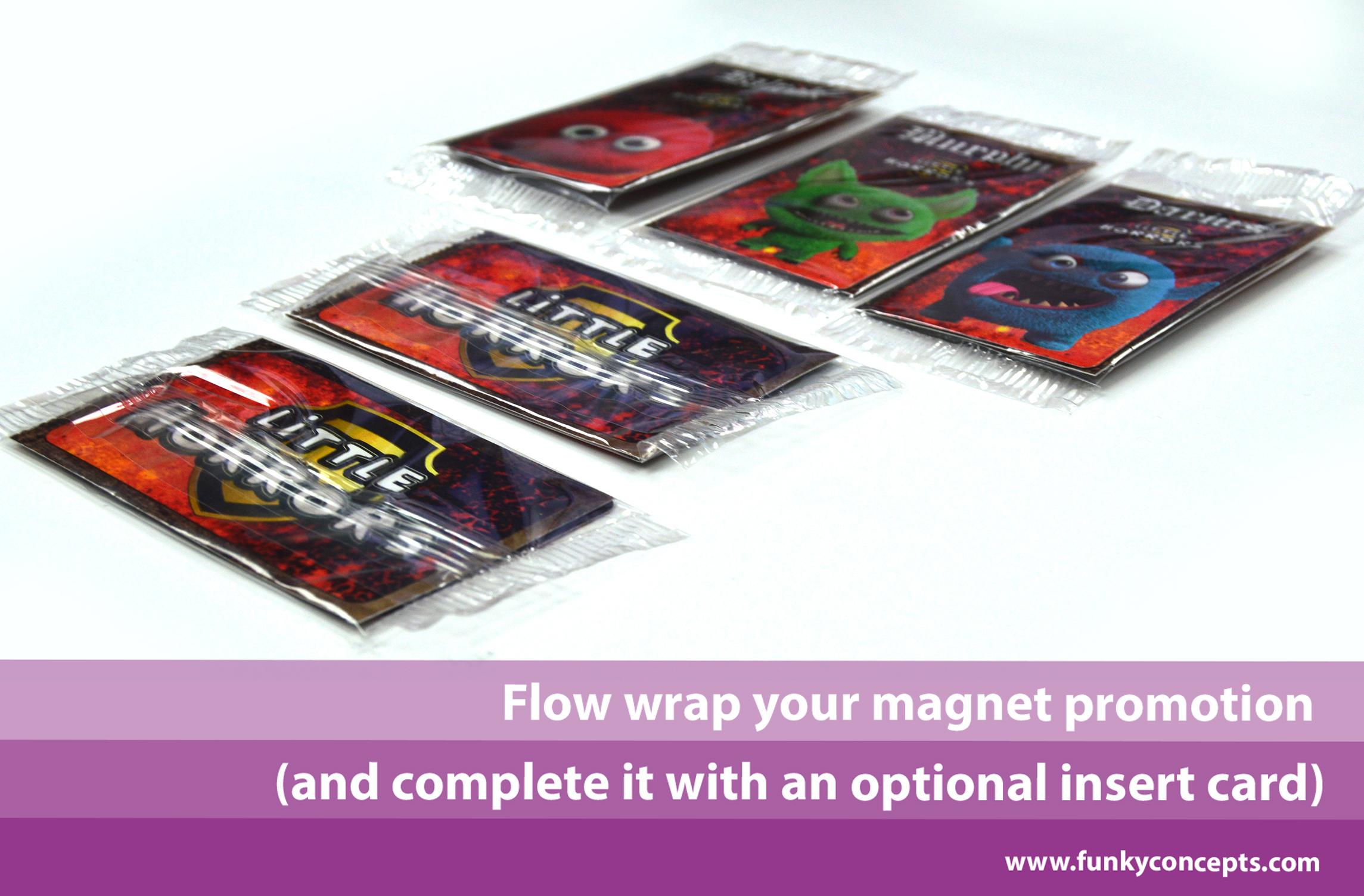Branded Flexible Fridge Magnet House