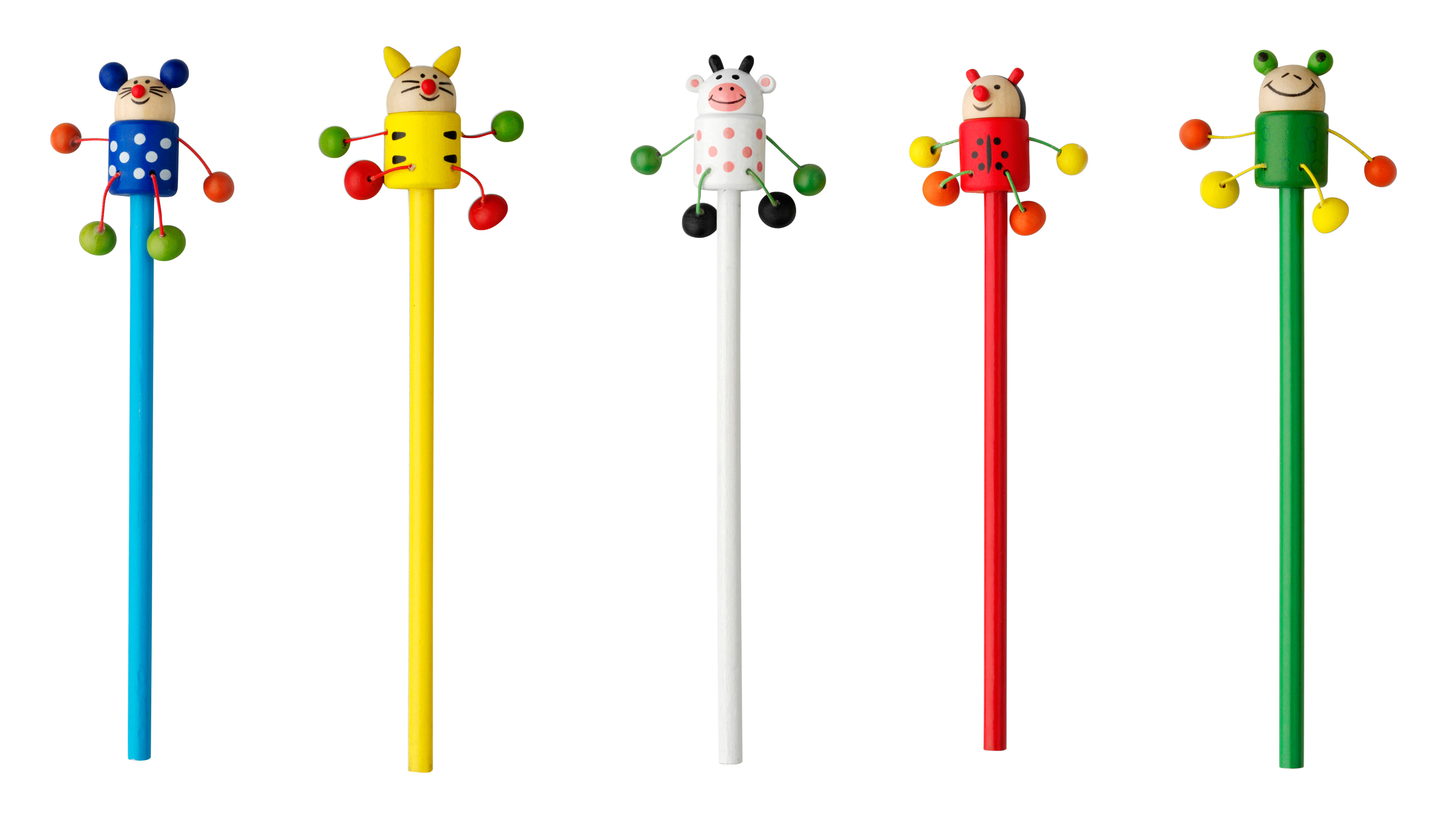 Promotional Animal pencil, 50 assd per pack