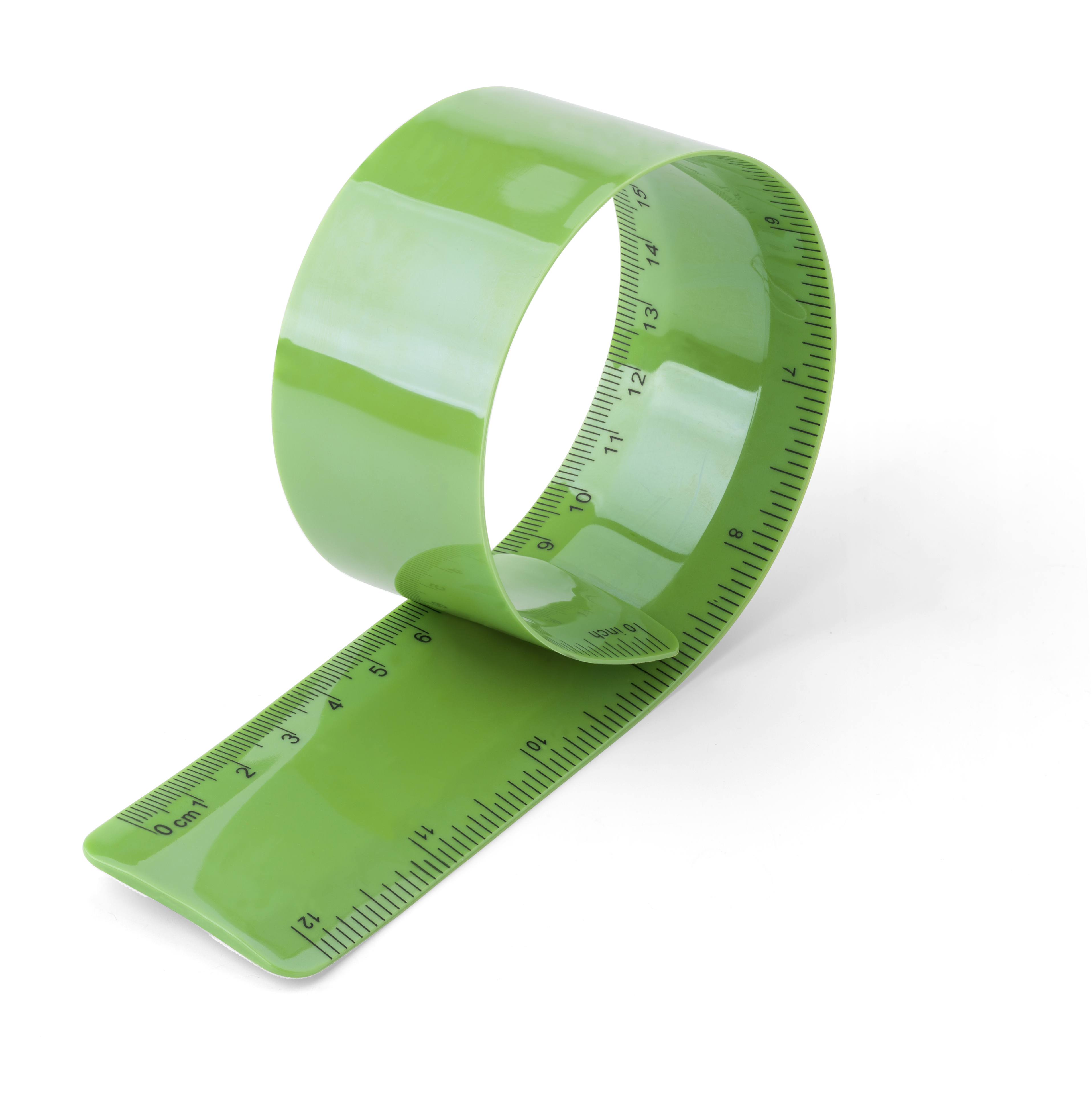 Promotional Flexible plastic ruler, 30cm/12