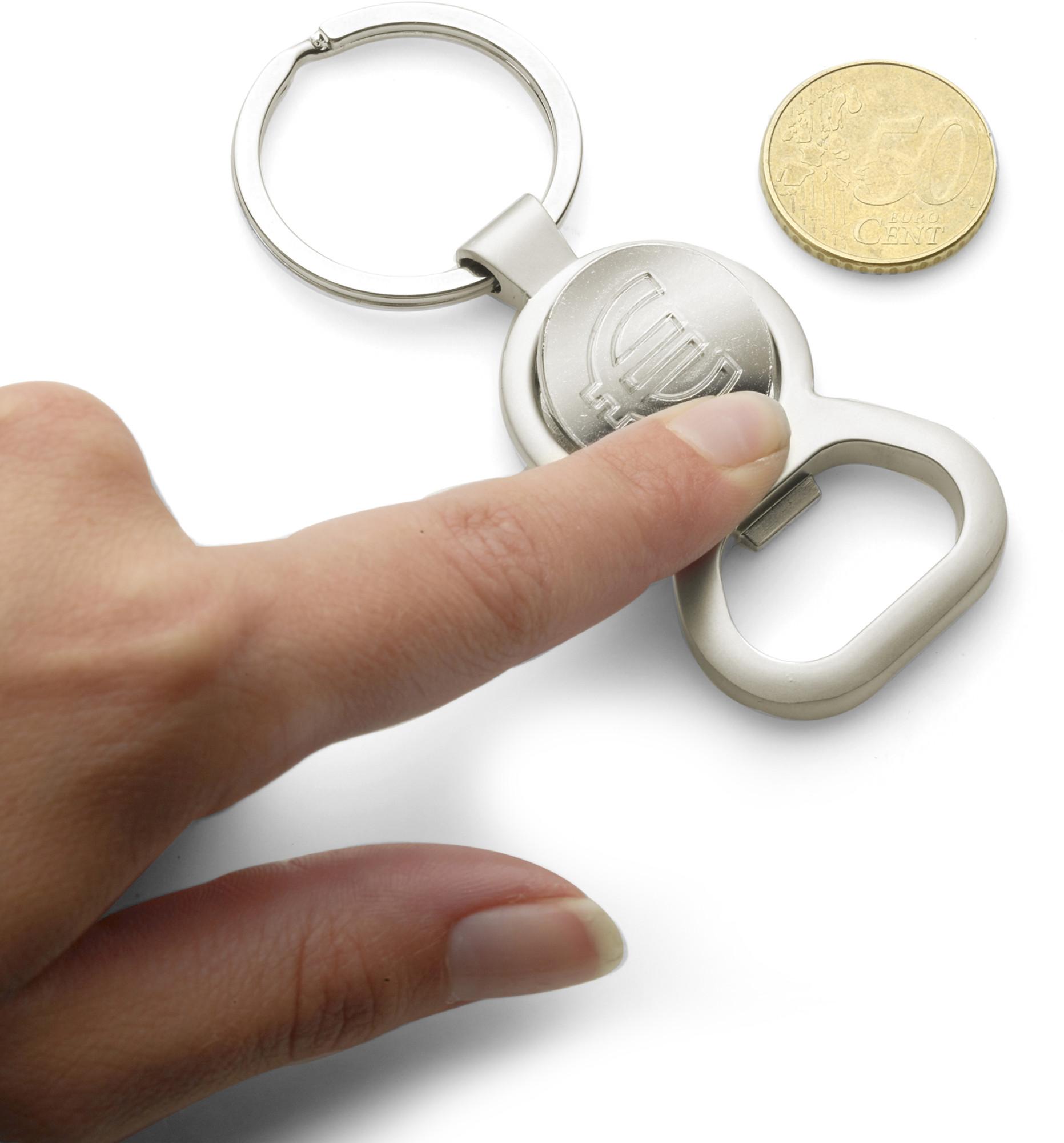 Printed Key holder, €1 trolley disc
