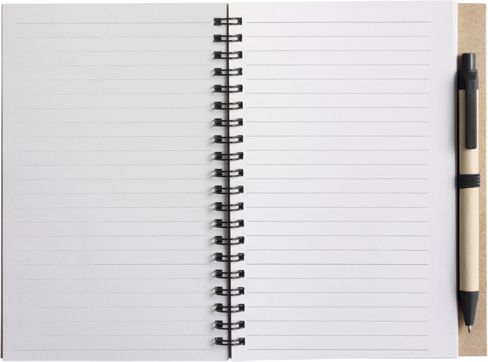 Promotional Recycled notebook.