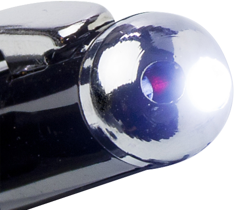 Promotional Laser with LED and rubber tip.