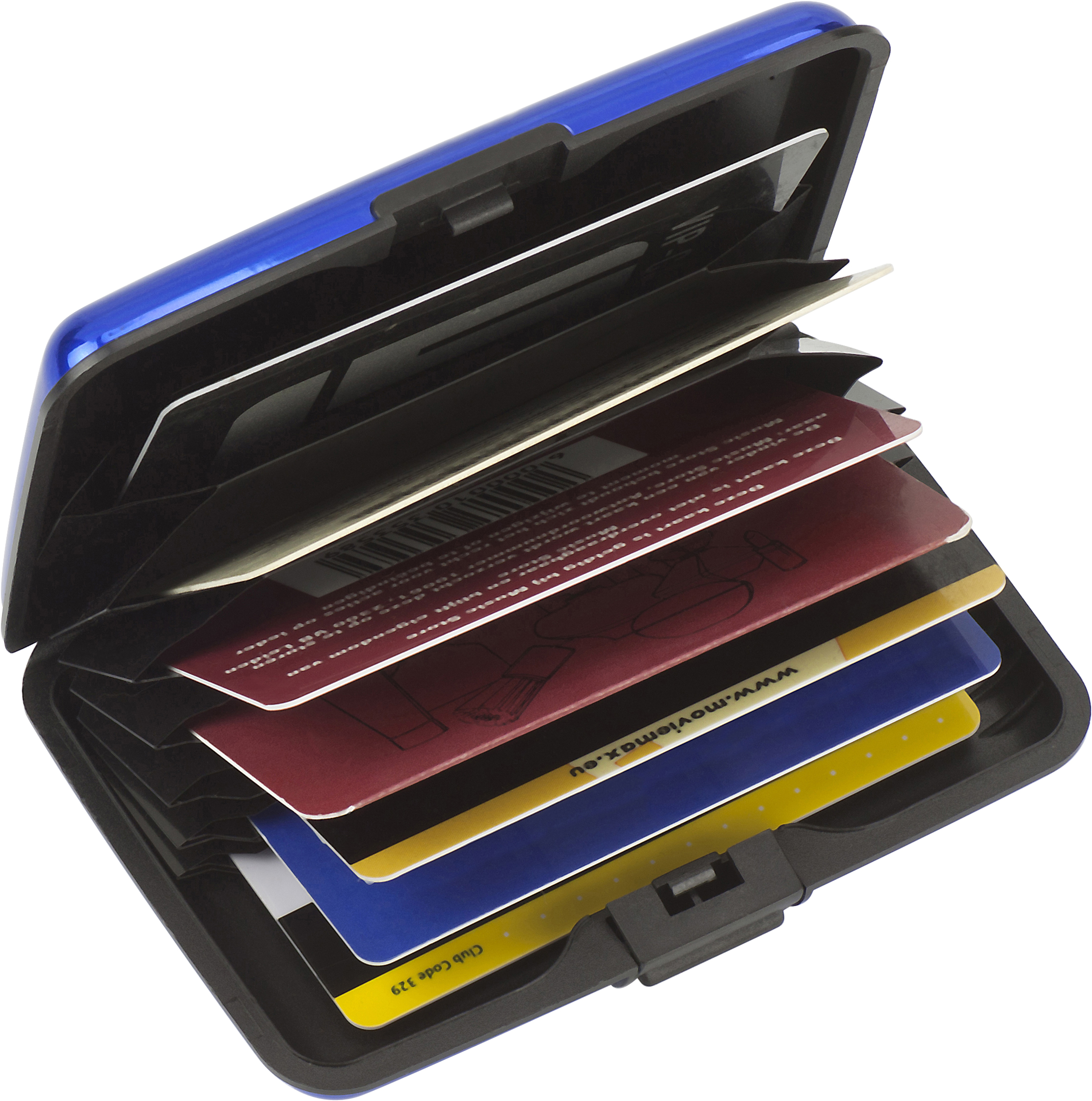Promotional Aluminium and plastic credit/business card case