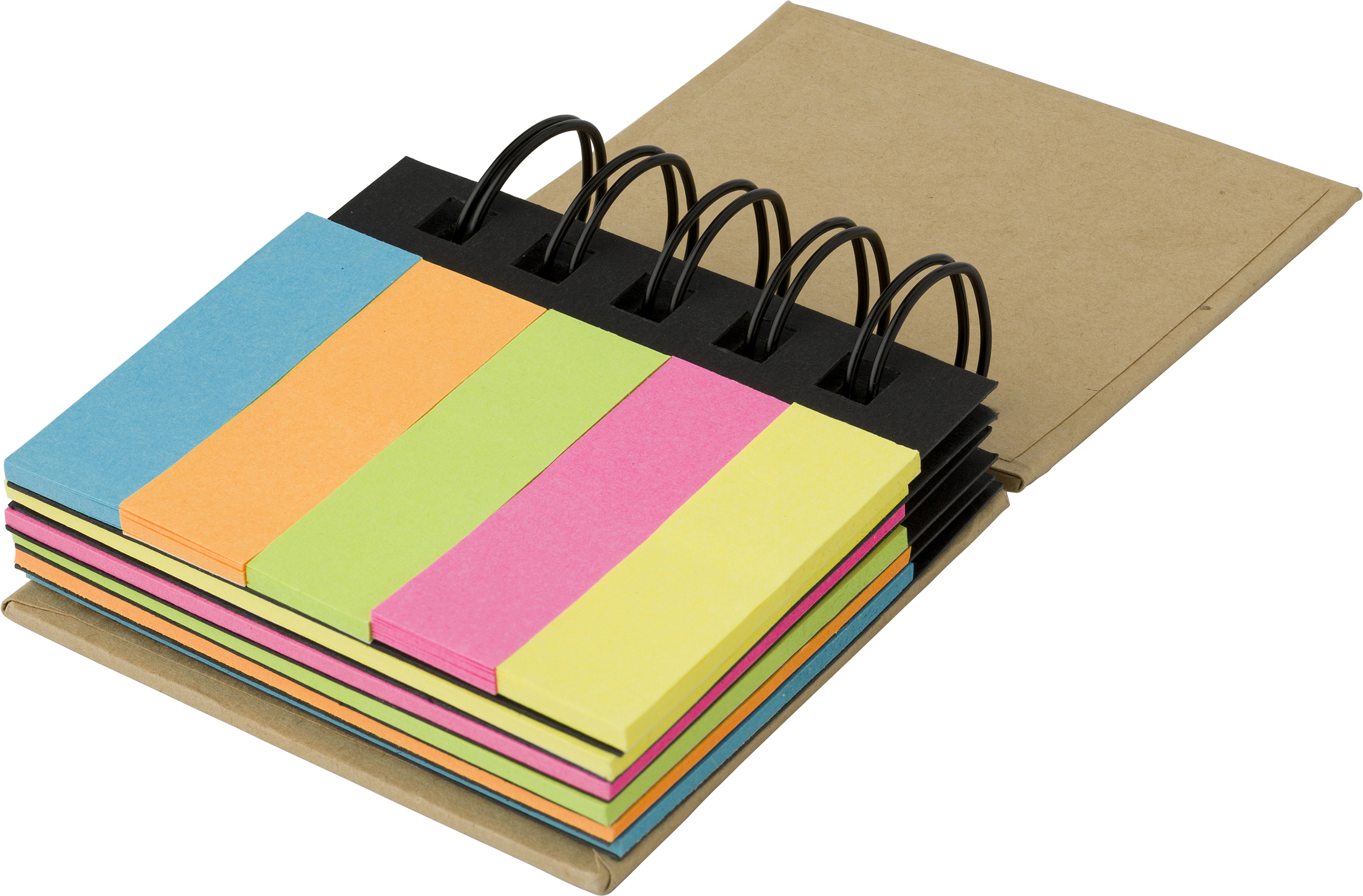 Personalised Wire bound sticky memos