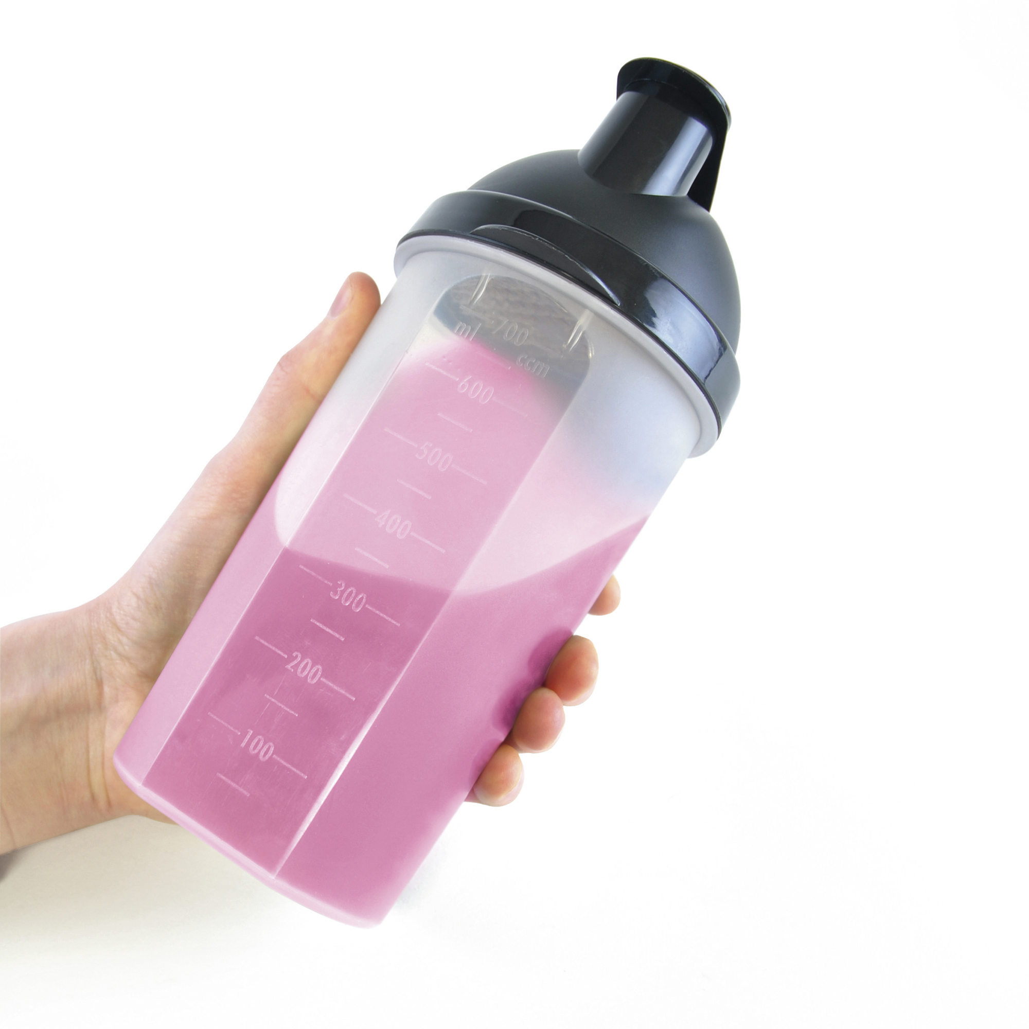 Branded Plastic Shaker 700Ml Single Walled Plastic Protein Shaker