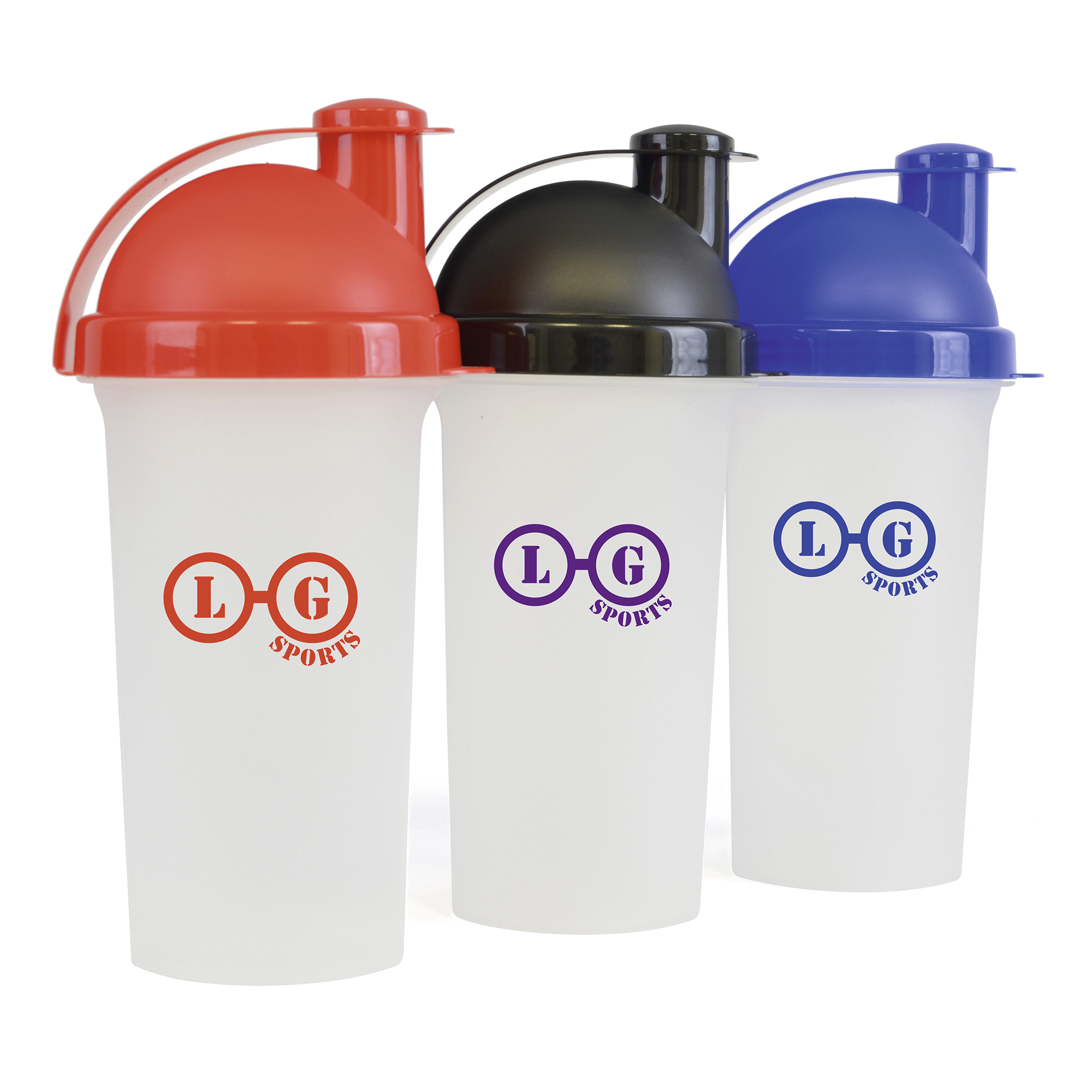 Personalised Plastic Shaker 700Ml Single Walled Plastic Protein Shaker