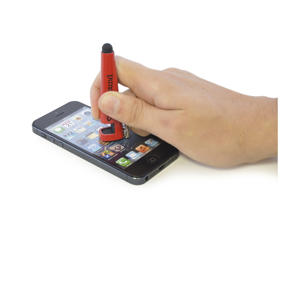 Promotional Phone Stylus - Phone Stand Keychain - Pen Style