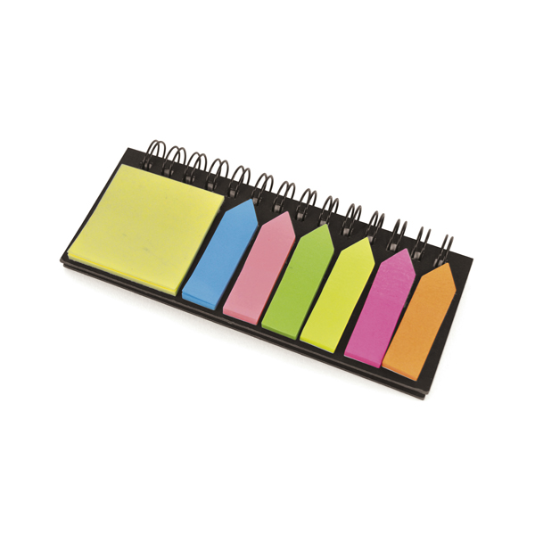 Promotional Blackrod Spiral Bound Notepad