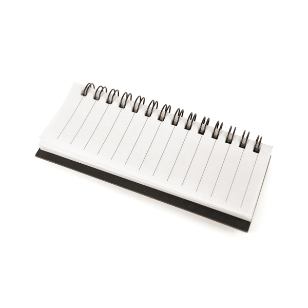 Branded Blackrod Spiral Bound Notepad