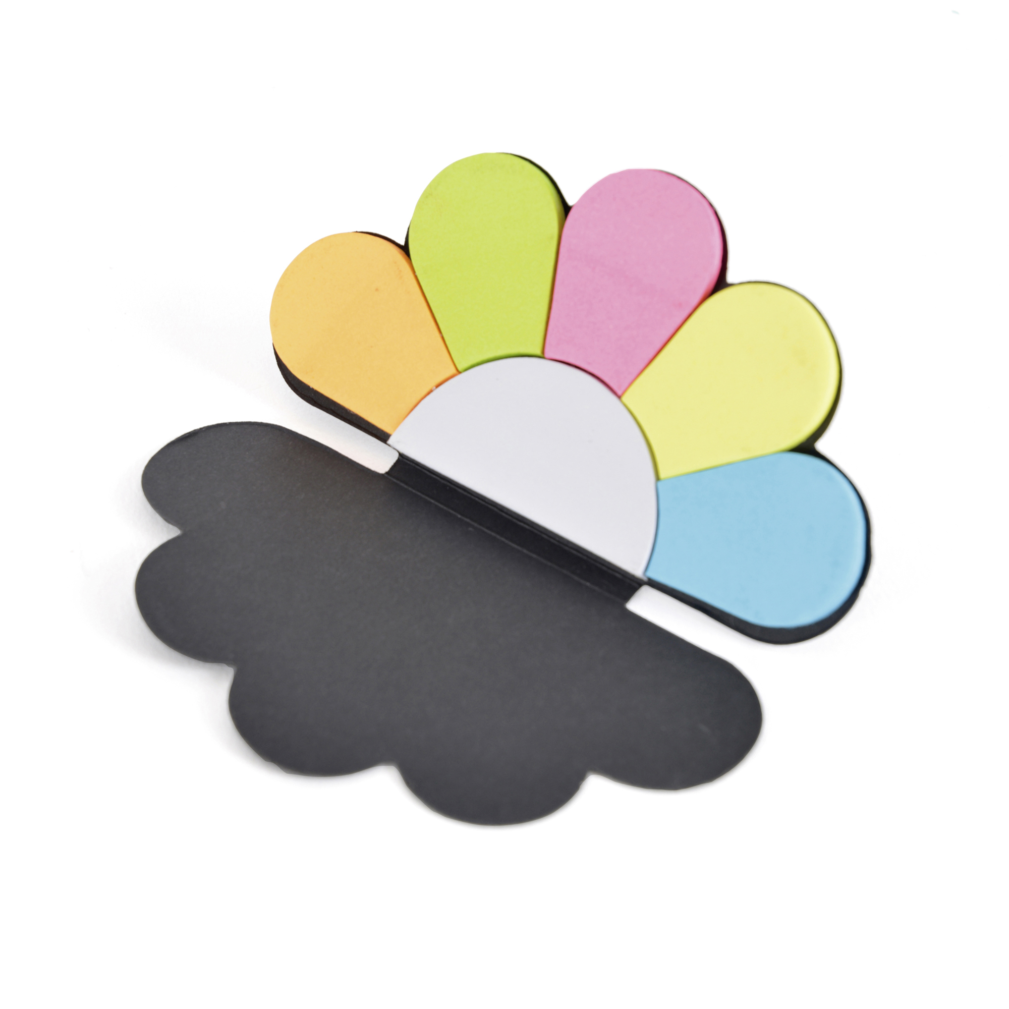Printed Cloud Sticky Notes