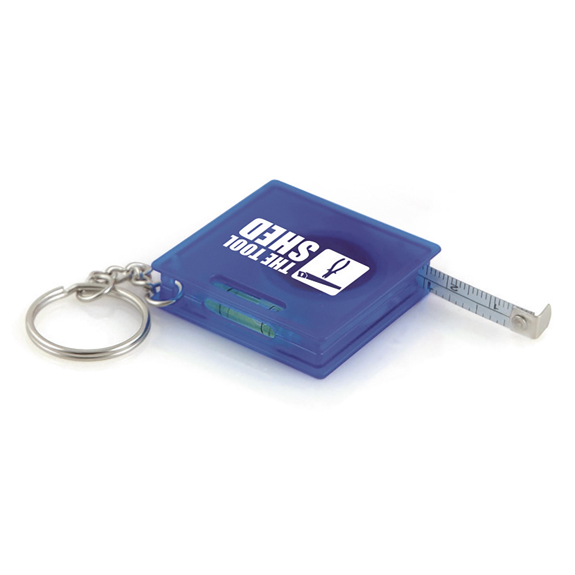 Promotional Skillet 1M Tape Measure Keyring