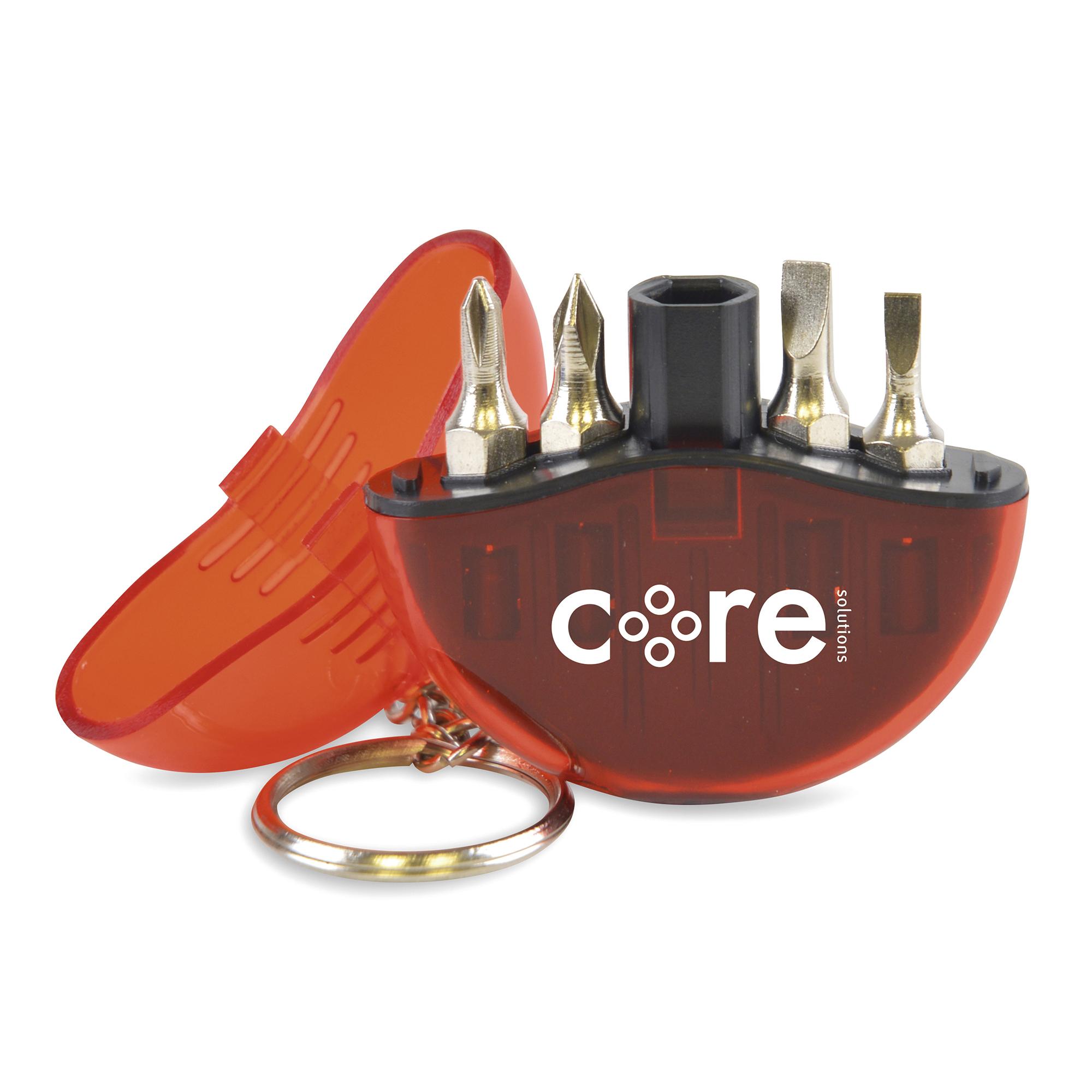 Promotional Cutler Keyring Screwdriver Set