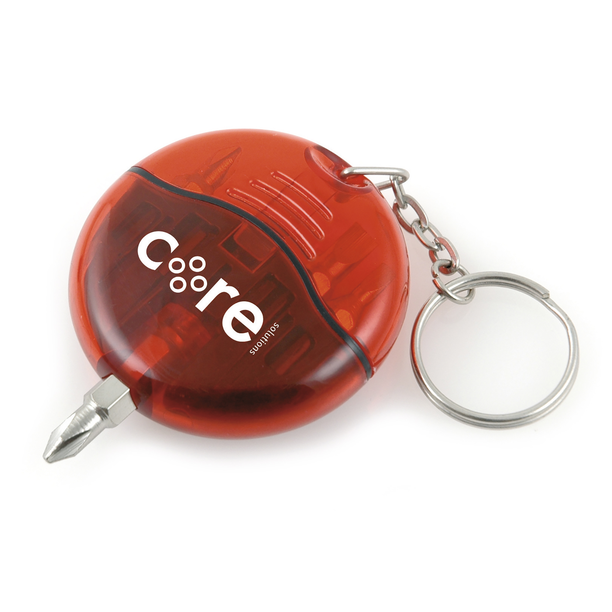 Branded Cutler Keyring Screwdriver Set