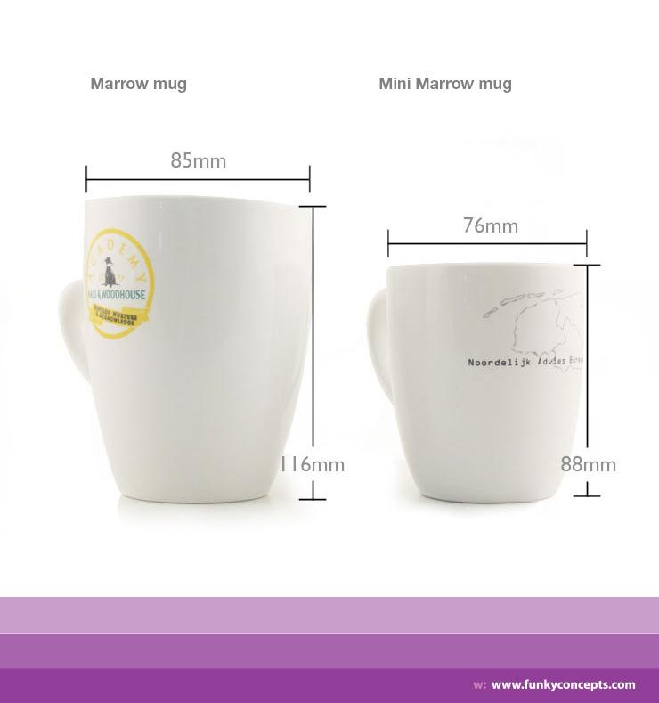 Promotional Mini Marrow Chalk Mug
