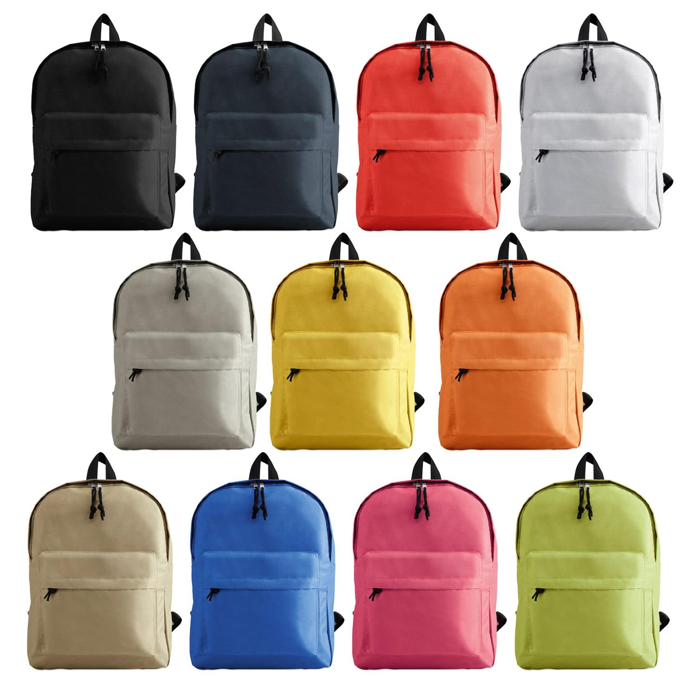 Branded 600D Polyester Backpack