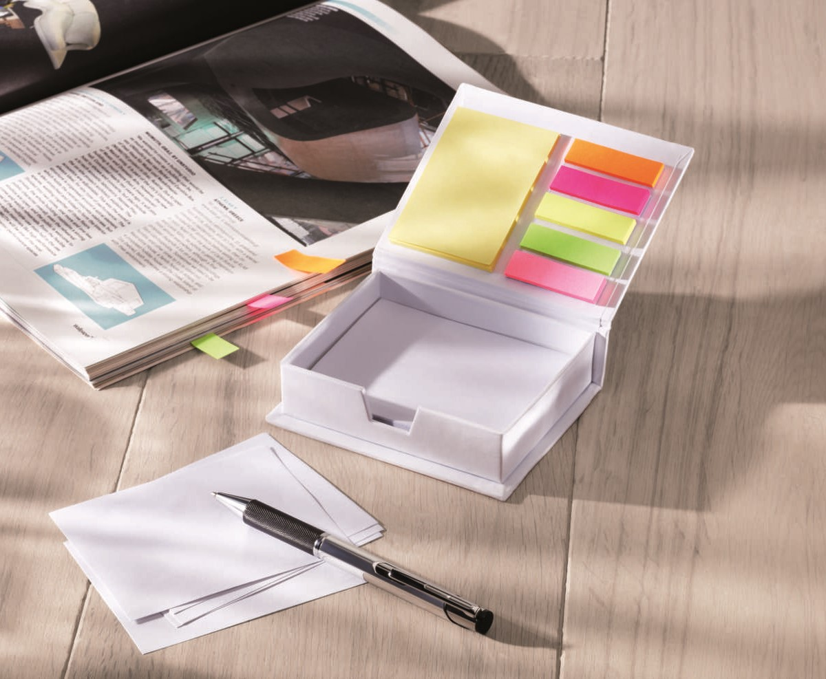 Promotional Memopad and sticky notes