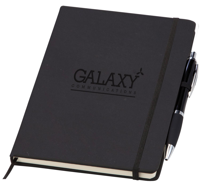 Printed Medium Noir Notebook (Curvy)