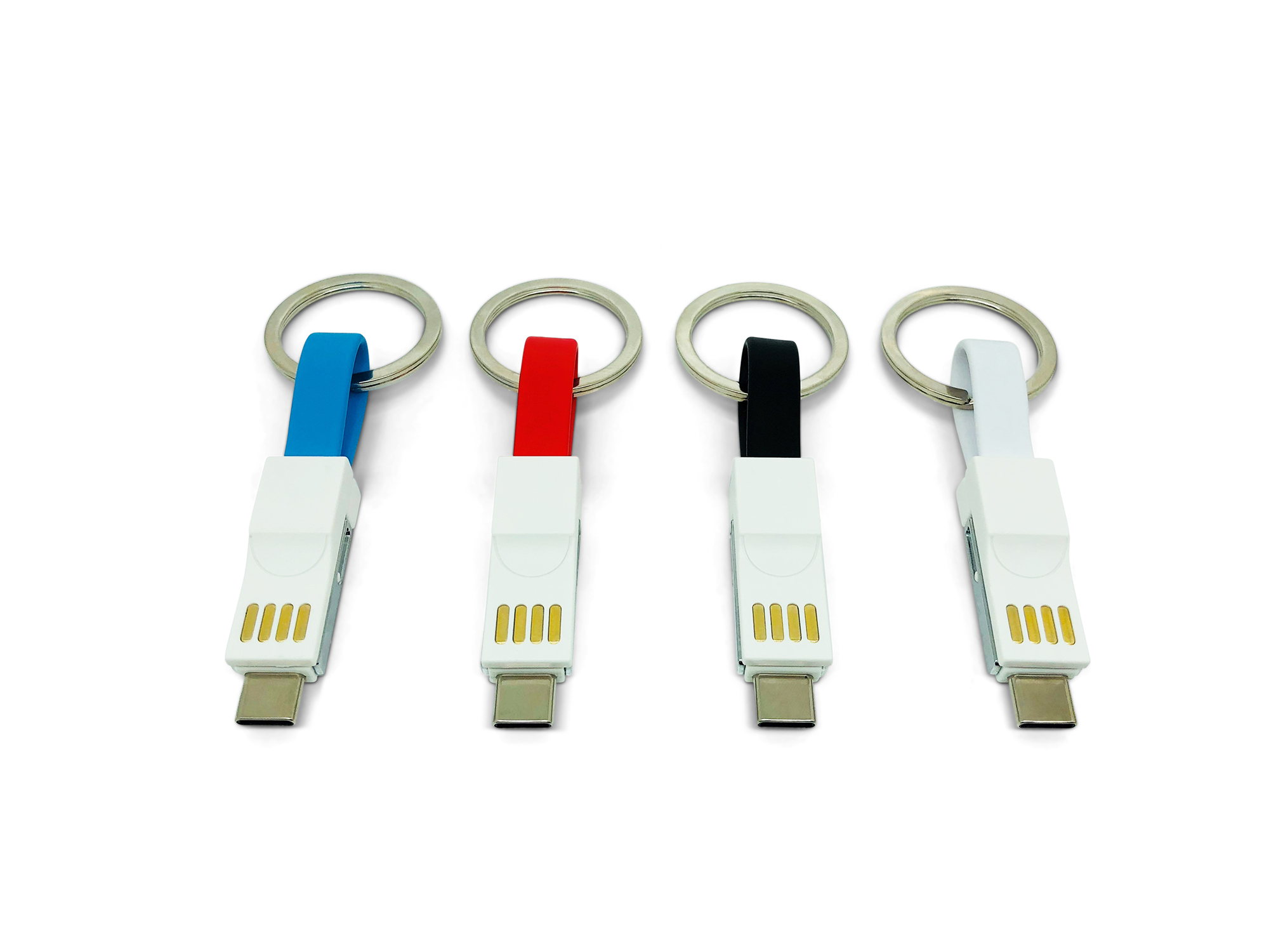 Branded 3-in-1 Keyring Charging Cable