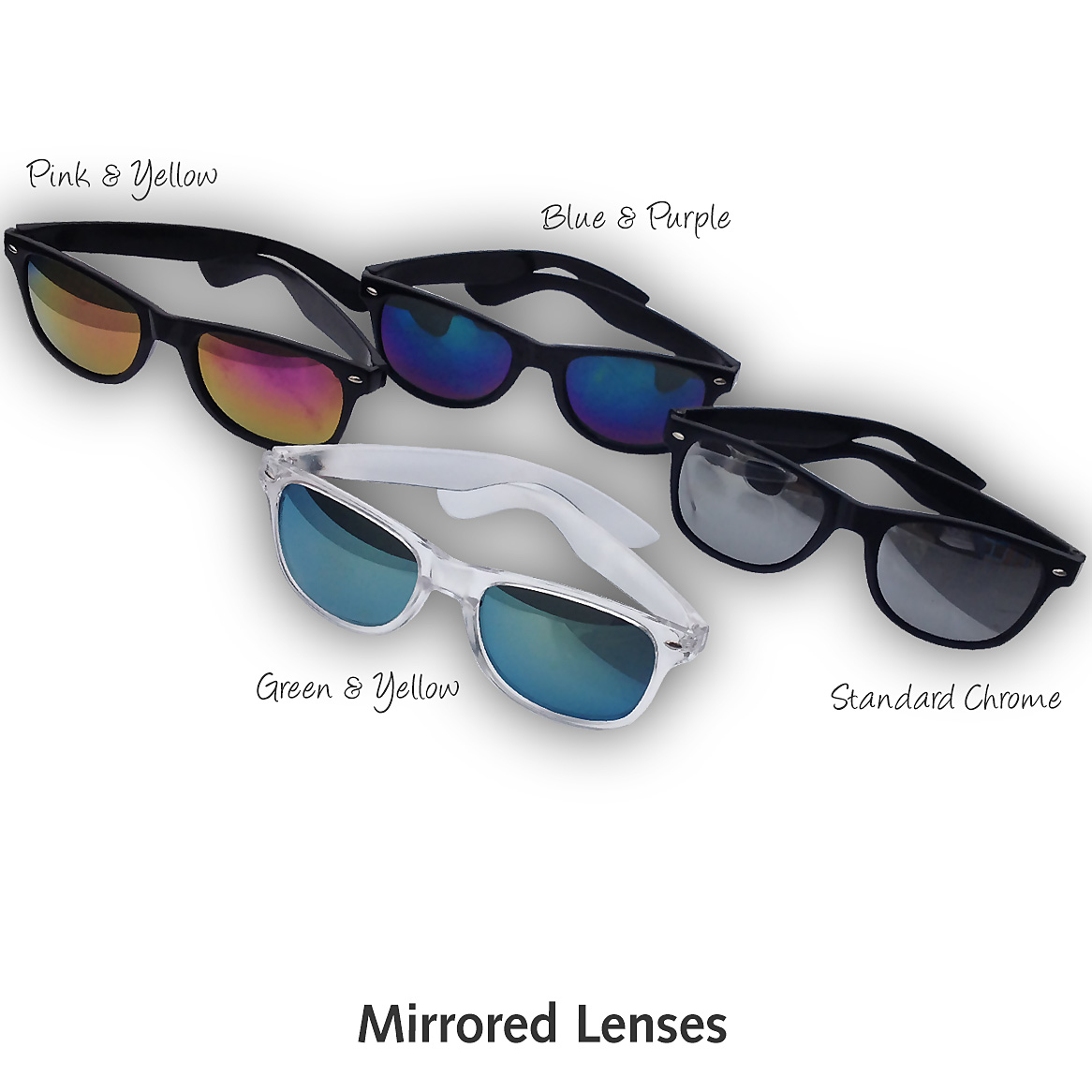 Promotional Sunglasses with Mirrored Lenses