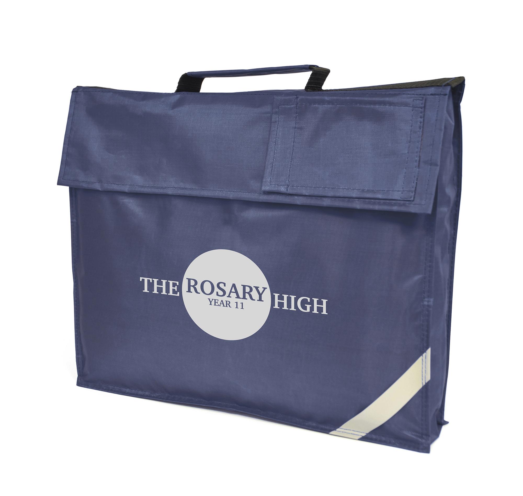 Printed Jasmine School Bag