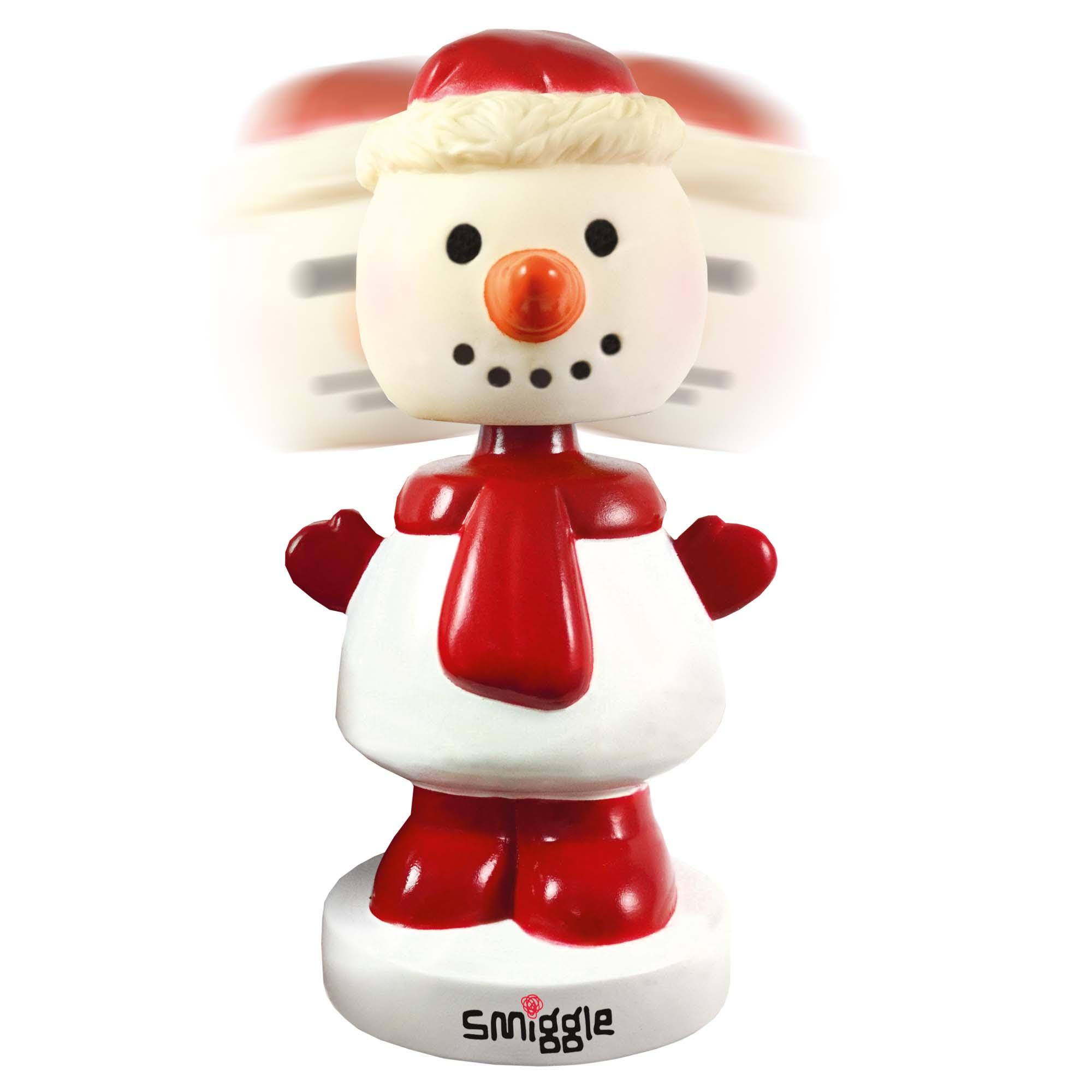 Branded Bobble Head Snowman
