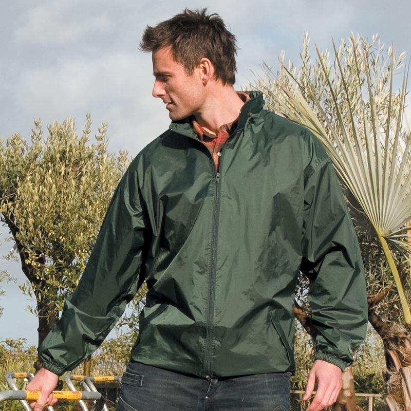 Branded Rain Jacket