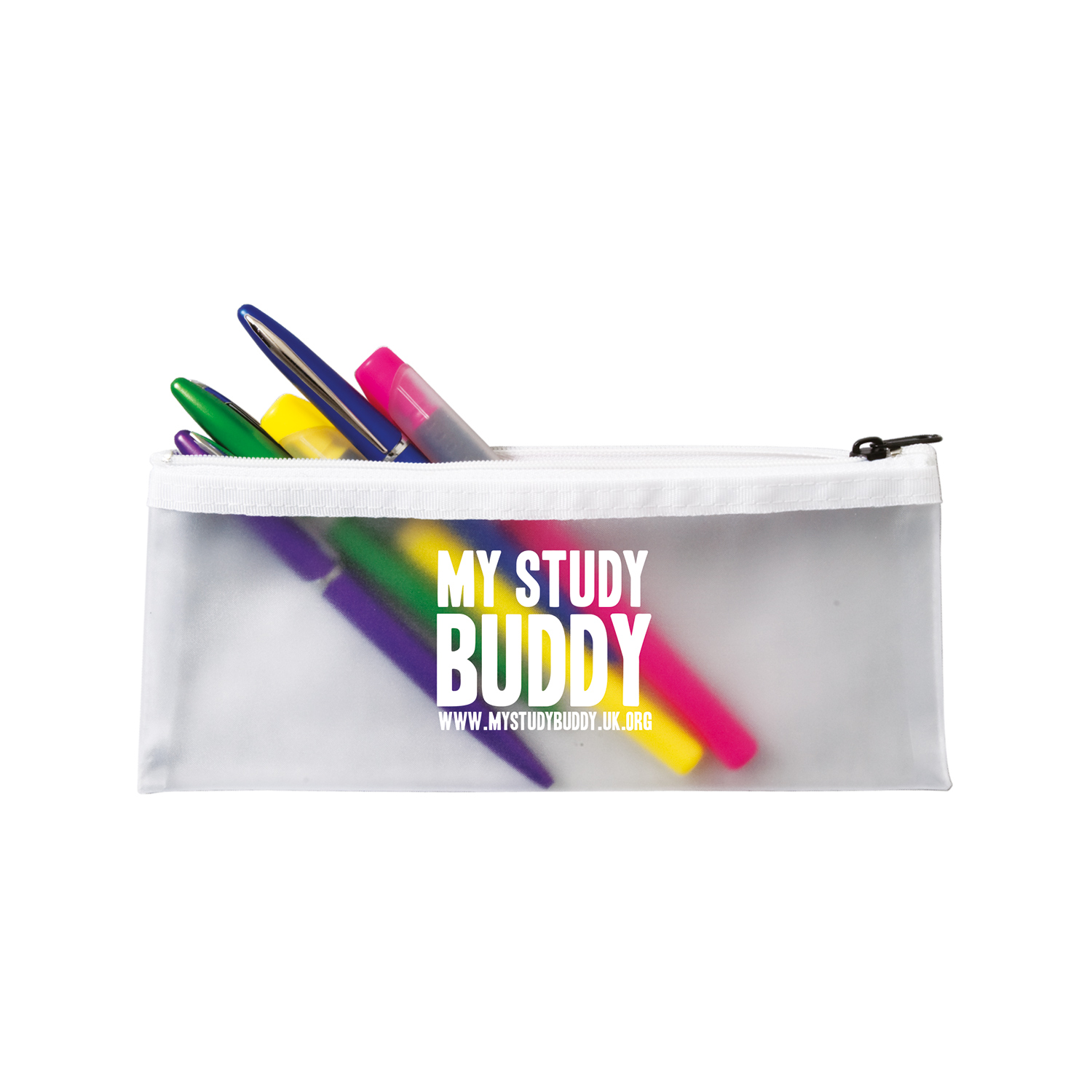 Promotional Frost Pencil Case