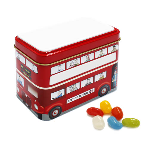 Promotional Bus Tin Jolly Beans